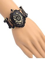 cheap -Men's Women's Flower Bracelet - Vintage Black Bracelet For Daily