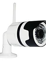 abordables -Ithink 1 MP Extérieur with Jour Nuit 64(Détection de présence Dual stream Accès à Distance Imperméable Coupure infrarouge) IP Camera