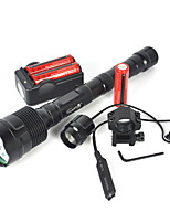 cheap -LED Flashlights / Torch Diving Flashlights/Torch Handheld Flashlights/Torch LED 6000lm lm 3 Mode LED Camping/Hiking/Caving Everyday Use