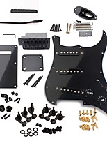 cheap -Professional Electric Guitar ST Guitar Electric Guitar Material Plastic Metal for Beginner Musical Instrument Accessories 31.5*25*5.3cm