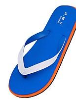 cheap -Men's Shoes PVC Spring Summer Comfort Slippers & Flip-Flops for Casual Black Dark Blue Light Blue