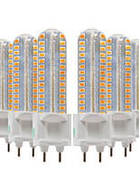 cheap -YWXLIGHT® 6pcs 8W 700-800 lm G12 LED Bi-pin Lights 128 leds SMD 2835 Warm White Cold White Natural White 220-240V