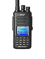 abordables -TYT MD-390 Walkie Talkie  Portátil Impermeable 2200 Walkie talkie Radio de dos vías