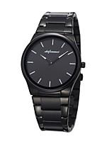 baratos -Homens Relógio de Pulso Relógio de Moda Relógio Casual Japanês Quartzo Calendário Impermeável Relógio Casual Aço Inoxidável Banda Luxo
