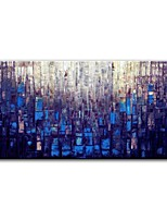 cheap -Oil Painting Hand Painted - Abstract Comtemporary Modern Canvas