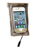 Недорогие -ROSWHEEL Велосумка/бардачок Бардачок на раму Сотовый телефон сумка Дожденепроницаемый Простота установки Велосумка/бардачок Пластик + +