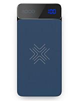 economico -8000mAh banca di potere della batteria esterna 5 Caricabatteria QC 2.0 Caricatore senza fili LCD