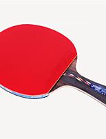 economico -5 Stelle Ping-pong Racchette Ping Pang Legno Gomma da cancellare Manopola lunga Brufoli DHS®
