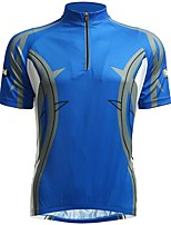 cheap -Jaggad Short Sleeves Cycling Jersey - Blue Bike