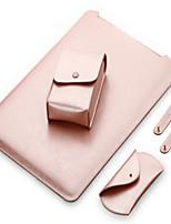 """Недорогие -Рукава для Сплошной цвет Кожа PU Новый MacBook Pro 13"""" MacBook Air, 13 дюймов MacBook Pro, 13 дюймов"""