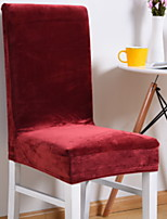 baratos -Moderna 100% Jacquard Poliéster Cobertura de Cadeira, Simples Sólido Estampa Pigmentada Capas de Sofa