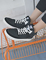 cheap -Men's Shoes PU Winter Fall Comfort Sneakers for Casual Black Gray