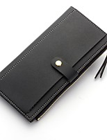cheap -Women's Bags PU Wallet Buttons for Outdoor All Seasons Blue Black