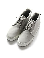 cheap -Men's Shoes Fabric Spring Fall Comfort Sneakers for Casual Black Gray