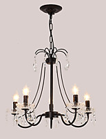 cheap -LightMyself™ Chandelier Pendant Light Ambient Light - Crystal, Chic & Modern Traditional / Classic, 110-120V 220-240V Bulb Not Included