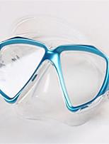 abordables -Masque de Nage Masque de Snorkeling Anti buée Natation Plongée Caoutchouc silicone - TUO