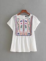 abordables -Tee-shirt Femme Coton Mignon