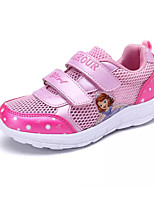 cheap -Girls' Shoes Tulle Spring Fall Comfort Sneakers for Casual Purple Pink