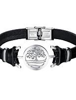preiswerte -Herrn Gliederarmband Freizeit Cool Leder Aleación Irregulär Schmuck Alltag Verabredung Modeschmuck