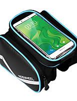 Недорогие -ROSWHEEL Велосумка/бардачок Бардачок на раму Сотовый телефон сумка Пригодно для носки Простота установки Велосумка/бардачок Кожа PU