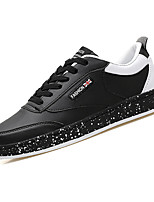 cheap -Men's Shoes Synthetic Microfiber PU Spring Fall Comfort Sneakers for Casual White Black Red
