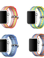 abordables -Bracelet de Montre  pour Apple Watch Series 3 / 2 / 1 Apple Bracelet Sport Nylon Sangle de Poignet
