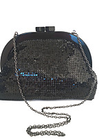 cheap -Women's Bags Acrylic / Metal Clutch Crystals for Event / Party Black / Gray
