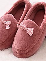 cheap -Ordinary Slippers Women's Slippers Cotton Velvet Cotton Bowknot