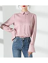 cheap -Women's Shirt Lace Shirt Collar