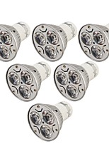 abordables -YouOKLight 6pcs 3W 240lm GU10 Spot LED 3 Perles LED LED Haute Puissance Décorative Blanc Chaud Blanc Froid 85-265V