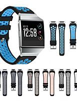 Недорогие -Ремешок для часов для Fitbit ionic Samsung Galaxy Спортивный ремешок силиконовый Повязка на запястье