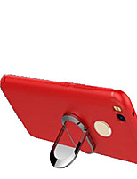 cheap -Case For Xiaomi Redmi 4X Shockproof with Stand Back Cover Solid Color Soft Silicone for Xiaomi Redmi 4X