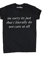 economico -T-shirt Per donna Basic, Alfabetico