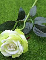 baratos -Flores artificiais 2 Ramo Pastoril Estilo / Estilo Europeu Rosas Flor de Mesa