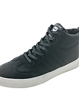 cheap -Men's Shoes Synthetic Microfiber PU Winter Comfort Sneakers for Casual White Black