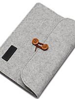 baratos -Bolsa para Côr Sólida Têxtil MacBook Pro 13 Polegadas
