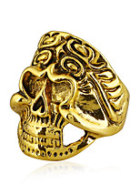 cheap -Men's Colorful Statement Ring - Skull Colorful Cool Rock For Bar Club