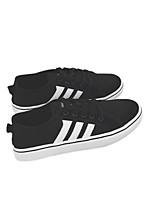 baratos -Homens sapatos Lona Primavera Outono Conforto Tênis para Casual Preto Cinzento Azul