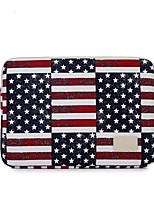 "cheap -Textile National Flag / Vintage Sleeves 13"" Laptop"