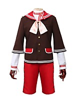 cheap -Inspired by Ensemble Stars Other Anime Cosplay Costumes Cosplay Suits Other Long Sleeves Coat Shirt Pants More Accessories Hat For Men's