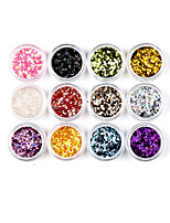 cheap -1 Nail Glitter Glitter Powder Sequins Classic Jewelry Nail Glitter Nail Art Design