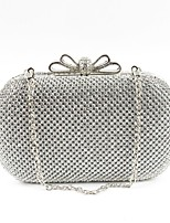 cheap -Women's Bags Glasses Evening Bag Bow(s) for Wedding Event/Party Spring All Seasons Gold Black Silver