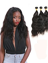 cheap -Peruvian Natural Wave Human Hair Weaves 3pcs 0.3