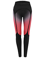 cheap -Women's Basic Legging - Print, Color Block Mid Waist