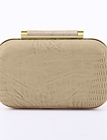 cheap -Women's Bags PU Evening Bag Embossed for Wedding Event/Party All Seasons Almond