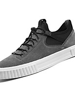 cheap -Men's Shoes Suede Spring Fall Comfort Sneakers for Casual Black Gray Khaki