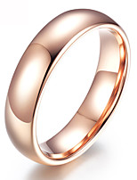 cheap -Men's Women's Gold Plated Band Ring - Simple For Party Daily