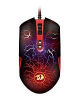 Недорогие -REDRAGON M606 Проводное Кабель Эргономичная мышь Игровой удобный DPI Регулируемая Подсветка 3D в мультяшном стиле 3200