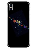 preiswerte -Hülle Für Apple iPhone X iPhone 8 Plus Muster Rückseite Cartoon Design Weich TPU für iPhone X iPhone 8 Plus iPhone 8 iPhone 7 Plus iPhone