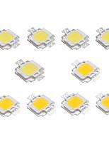 Недорогие -10 шт. LED чип Алюминий для светодиодных прожекторов DC 12 В